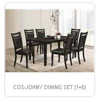 COS-JOHNY DINING SET (1+6)
